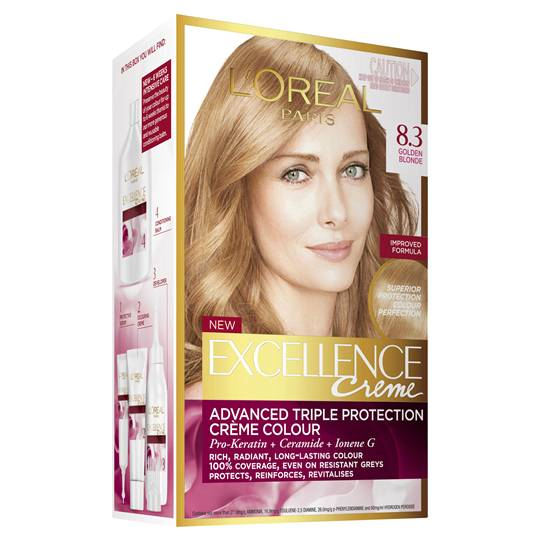 L'oreal Excellence Crème 8.3 Golden Blonde