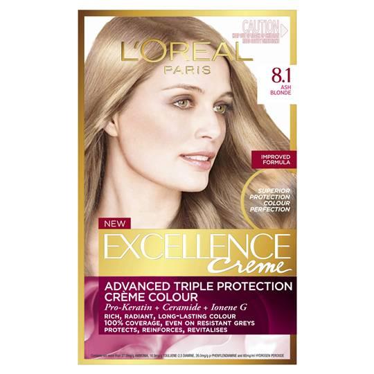 L'oreal Excellence Crème 8.1 Ash Blonde