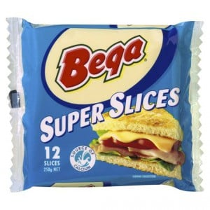 Bega Super Cheese Slices