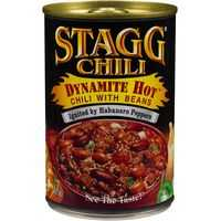 Stagg Beef Chilli Hot Dynamite With Beans