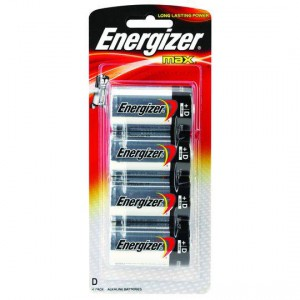 Energizer Max Type D Batteries