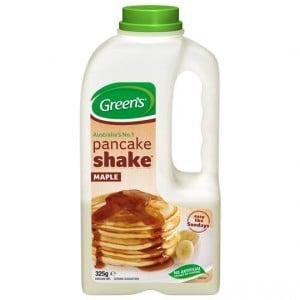 Greens Maple Syrup Pancake Shake