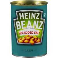 Heinz Baked Beans Tomato Sauce No Added Salt