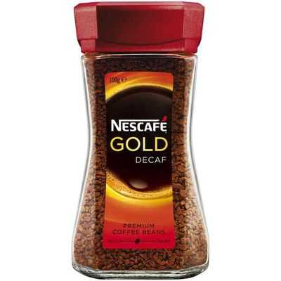 Nescafe Gold Instant Decaffeinated Coffee