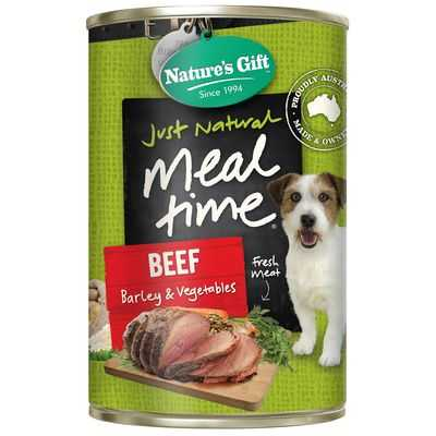 Nature's Gift Adult Dog Food Beef Barley & Vegetable