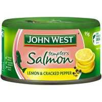 John West Tempters Salmon Lemon & Cracked Pepper