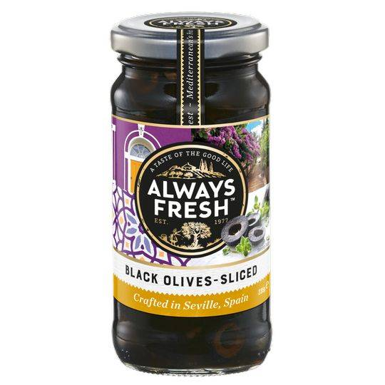 Always Fresh Olives Black Sliced