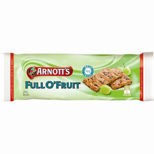 Arnott's Full O' Fruit