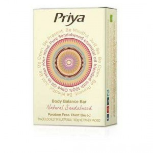 Priya Soap Bar Natural Sandalwood