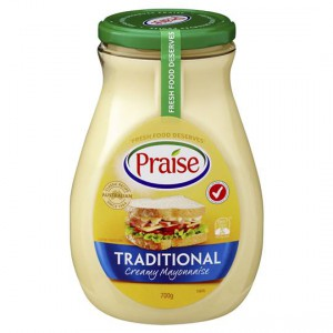 Praise Mayonnaise Traditional Creamy