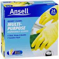 Ansell Gloves Handy Clean Disposable