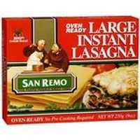 San Remo Lasagne Pasta Large