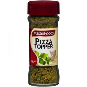 Masterfoods Seasoning Pizza Topper