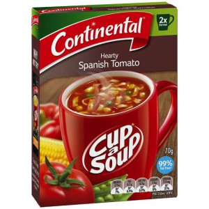 Continental Cup A Soup Instant Soup Hearty Spanish Tomato