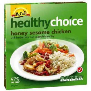Mccain Healthy Choice Chicken Honey & Sesame