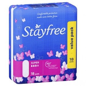 Stayfree Pads Super No Wings