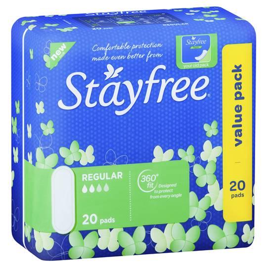 Stayfree Pads Regular No Wings