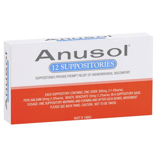 Anusol Haemorrhoidal Suppositories