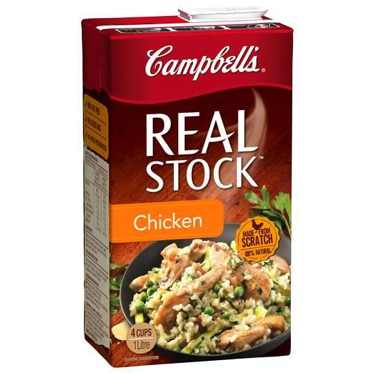 Campbells Real Chicken Liquid Stock