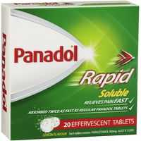 Panadol Rapid Soluble Tablets