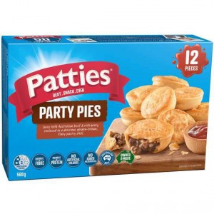 Patties Party Pies