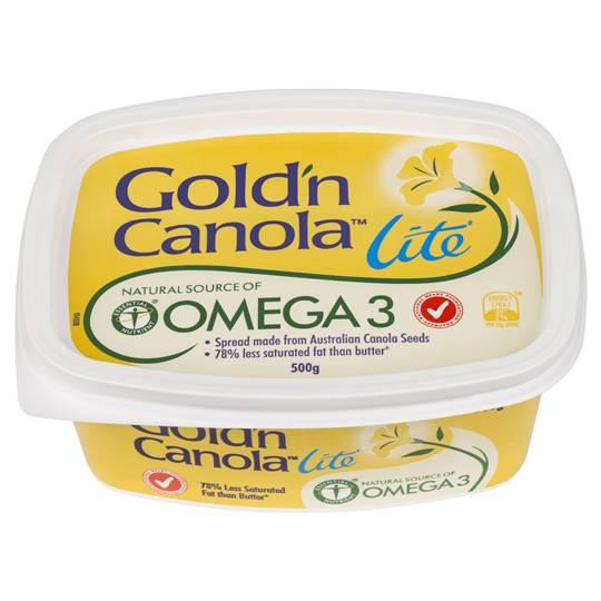 Gold N Canola Margarine Spread Lite Fat Reduced