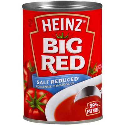 Heinz Canned Soup Big Red Tomato Salt Reduced