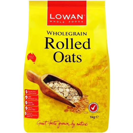 Lowan Rolled Wholegrain Oats