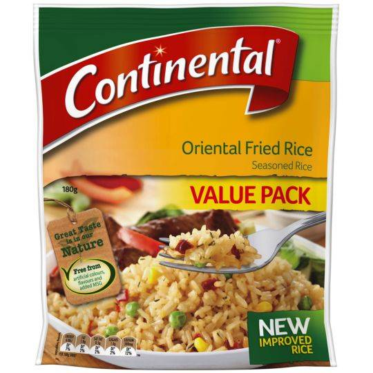 Continental Value Pack Fried Rice Oriental