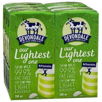 Devondale Skim Long Life Milk