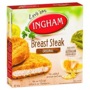 Ingham Chicken Pieces Breast Steaks