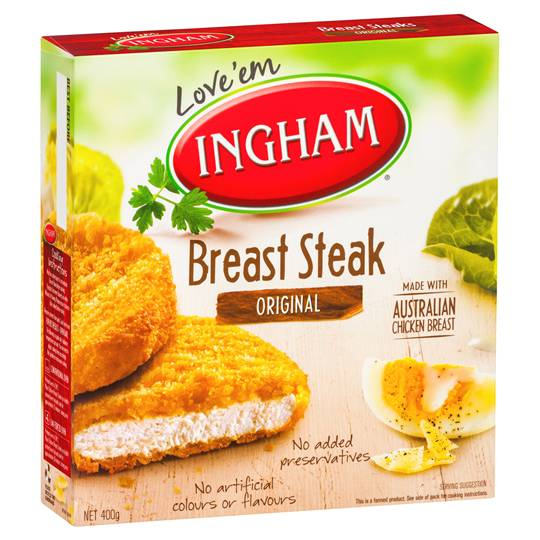 Ingham Chicken Pieces Breast Steaks