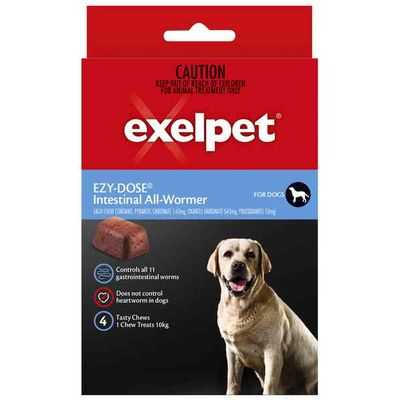 Exelpet Ezy-dose Dog Treatment Intestinal Allwormer