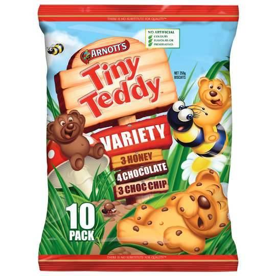 Arnott's Tiny Teddy Variety