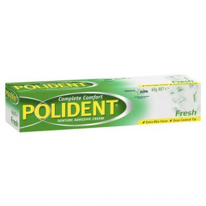 Polident Poligrip Denture Care Cream Fresh Mint