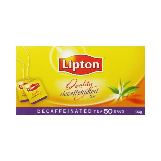 Lipton Tea Bags Decaffeinated