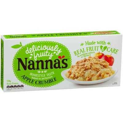Nanna's Crumble Apple