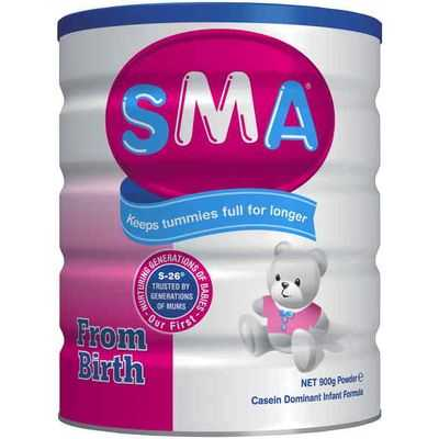 Sma Baby Formula From Birth