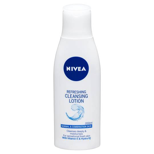 Nivea Visage Facial Cleanser Refresh Cleansing Lotion