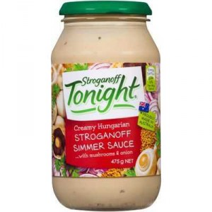 Continental Tonight Simmer Sauce Stroganoff