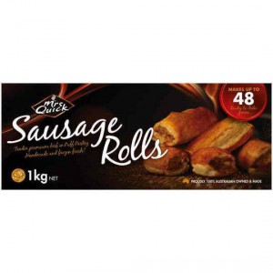 Mrs Quick Sausage Roll