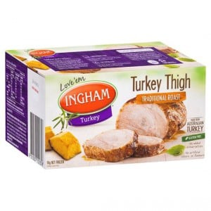 Ingham Frozen Turkey Thigh Roast Traditional
