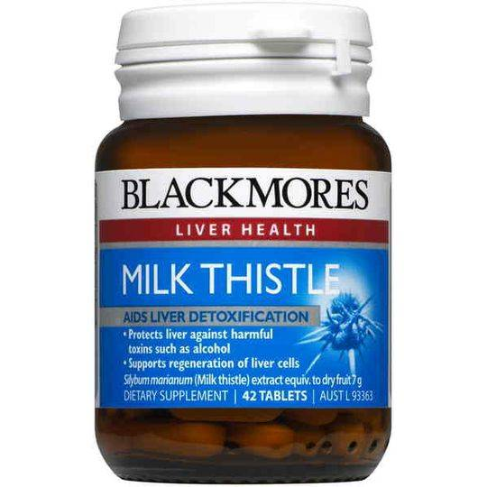 Blackmores Milk Thistle Liver Tonic Tablets
