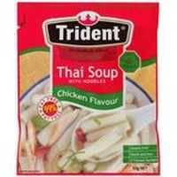 Trident Instant Soup Thai Chicken With Noodles