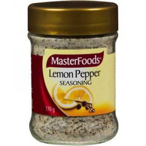Masterfoods Seasoning Lemon & Pepper