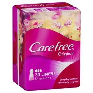 Carefree Panty Liners Regular