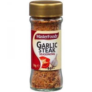 Masterfoods Seasoning Garlic Steak