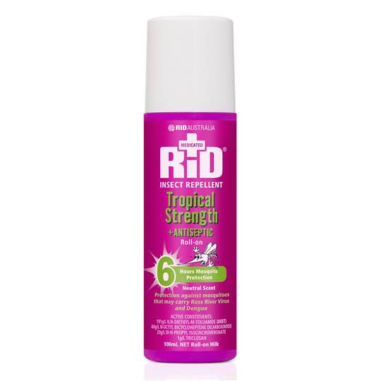 Rid Insect Repellent Medic Tropical Strength R/o