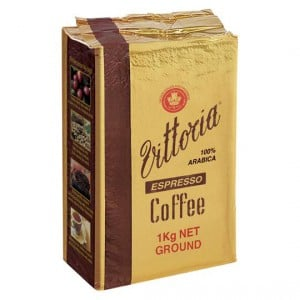Vittoria Espresso Ground Coffee