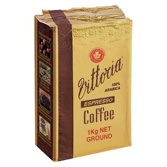 Vittoria Espresso Ground Coffee